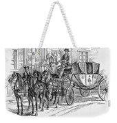 Horse-drawn Coach Weekender Tote Bag