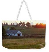 Horse Farm Sunset Weekender Tote Bag
