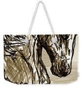 Horse Twins I Weekender Tote Bag