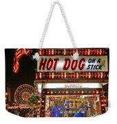 Hot Dog On A Stick Weekender Tote Bag