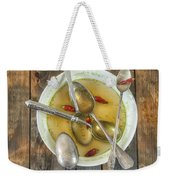 Hot Soup Weekender Tote Bag by Joana Kruse