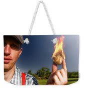 Hot Sport Weekender Tote Bag