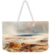 Hot Springs Of Yellowstone Weekender Tote Bag