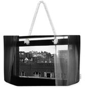 Hotel Window Butte Montana 1979 Weekender Tote Bag