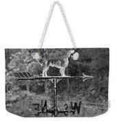 Hound Dog Weather Vane Weekender Tote Bag