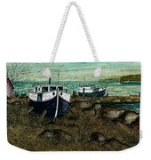 House Boats Weekender Tote Bag