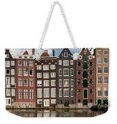 Houses In Amsterdam Weekender Tote Bag