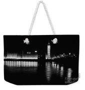 Houses Of Parliament And Big Ben Weekender Tote Bag