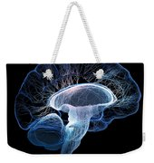 Human Brain Complexity Weekender Tote Bag
