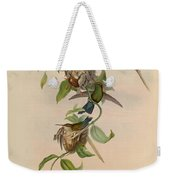 Hummingbirds Weekender Tote Bag