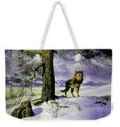 Hunting Wolf Weekender Tote Bag