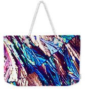 Hydroquinone Crystals In Polarized Light Weekender Tote Bag