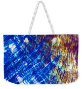 Hydroquinone Microcrystals Color Abstract Art Weekender Tote Bag