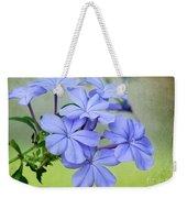 I Love Blue Flowers Weekender Tote Bag