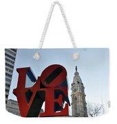 I Love Philadelphia Weekender Tote Bag