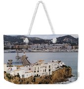 Ibiza Town Weekender Tote Bag