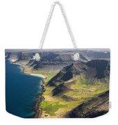 Iceland Plateau Mountains Weekender Tote Bag