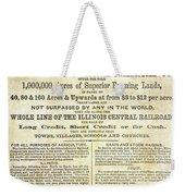 Illinois Railroad Company Weekender Tote Bag