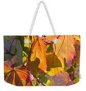 Illumining Autumn Weekender Tote Bag