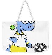 Illustration Of A Tyrannosaurus Rex Weekender Tote Bag