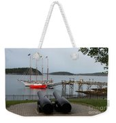 In The Line Of Fire Weekender Tote Bag
