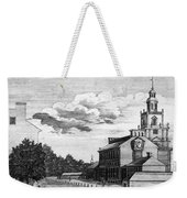 Independence Hall, 1778 Weekender Tote Bag