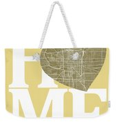 Indianapolis Street Map Home Heart - Indianapolis Indiana Road M Weekender Tote Bag