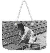 Indians Making Adobe Bricks Weekender Tote Bag
