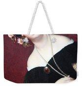 Ingres' Madame Moitessier Abstract Weekender Tote Bag
