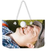 Insane Sport Nut Crazy About Golf Weekender Tote Bag