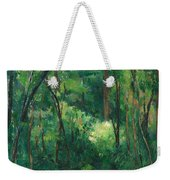 Interior Of A Forest Weekender Tote Bag