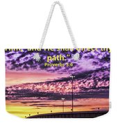 Interstate At Sunrise Weekender Tote Bag