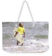 Into The Water Weekender Tote Bag