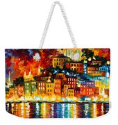 Inviting Harbor Weekender Tote Bag
