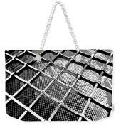 Iron Protection On Mesh Covered Well Inside Edinburgh Castle Weekender Tote Bag