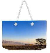 1-israel Negev Desert Landscape  Weekender Tote Bag