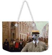 Italian Greyhound Art Canvas Print Weekender Tote Bag