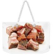 Italian Guanciale Weekender Tote Bag