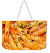 Italian Pasta - Penne All'arrabbiata Weekender Tote Bag
