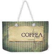 It's Coffee Time Weekender Tote Bag