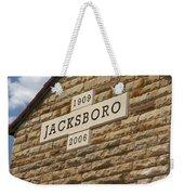Jacksboro Texas Weekender Tote Bag