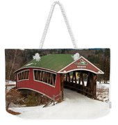 Jackson Cross Country Skiing Bridge Weekender Tote Bag