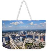 Jacksonville Florida Weekender Tote Bag
