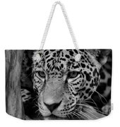 Jaguar In Black And White II Weekender Tote Bag