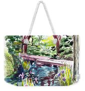 Japanese Tea Garden San Francisco Weekender Tote Bag by Irina Sztukowski