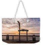 Jeanette's Pier  Weekender Tote Bag