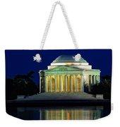 Jefferson Memorial At Night Weekender Tote Bag