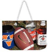 Jim Beam Coke And Football Weekender Tote Bag