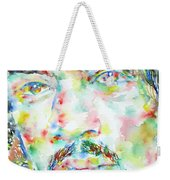 Jimi Hendrix Watercolor Portrait.1 Weekender Tote Bag
