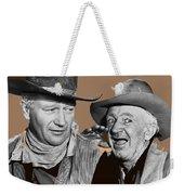 John Wayne Walter Brennan Publicity Photo Red River 1948-2013 Weekender Tote Bag